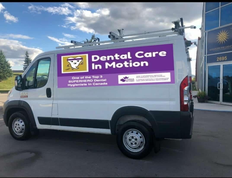 mobile dental care van